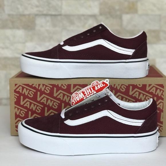 Vans Shoes | Old Skool Platform | Poshmark